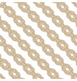 seamless nautical rope pattern square knot vector image vector image