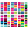 Set of Vibrant Gradient Button Icons vector image vector image