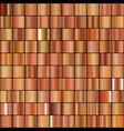 set realistic bronze gradients vector image vector image