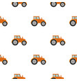tractor icon of for web and vector image vector image