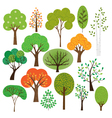 trees clipart vector image