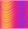 warm color wave seamless texture vector image vector image