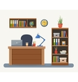 Workplace in office vector image vector image