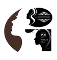 images and emblems or spa and beauty salons vector image