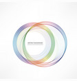 abstract background with color circle vector image vector image