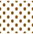 Barrel of beer pattern cartoon style vector image vector image