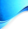 blue abstract cell background with border element vector image vector image