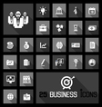 business icons concepts vector image