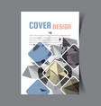 cover design template5 vector image vector image