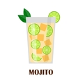 Mojito cocktail vector image vector image
