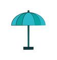 parasol or umbrella icon image vector image vector image