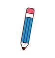 pencil school supply icon vector image vector image