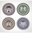 Polynesian circle patterns