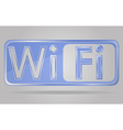 transparent sign wi fi 02 vector image vector image