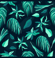 Tropical palm seamless pattern summer background