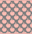 apple gray pink seamless pattern background vector image vector image