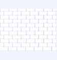 ceramic brick tile wall vector image