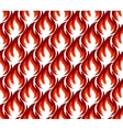 Fire symbols seamless pattern vector image