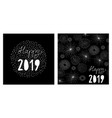 funny hand drawn new years eve card vector image