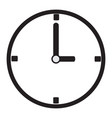 isolated watch icon vector image