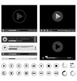 Media players vector | Price: 1 Credit (USD $1)