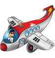 Modern aeroplane vector image vector image