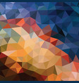 polygonal abstract background - pattern vector image