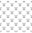 spa aroma bottle pattern seamless vector image vector image