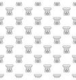 spa aroma bottle pattern seamless vector image