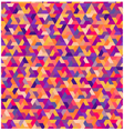 seamless geometric colorful pattern vector image