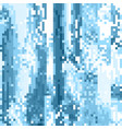 abstract pixel art blue wallpaper vector image