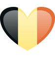 belgium flag official colors national belgium vector image