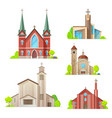 church cathedral chapel religon architecture vector image