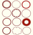 circular patterns vector image