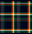 classic plaid pattern vector image vector image