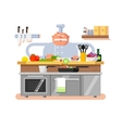 Cook character man vector image vector image