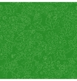 daisy background green vector image