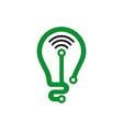 economics corporate business logo finance icon vector image vector image