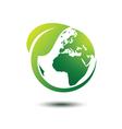 Green earth 3 vector image vector image