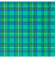 scottish cage green seamless pattern vector image vector image