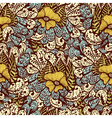 Seamless vintage fantasy pattern vector image vector image