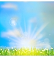 Spring or summer abstract nature EPS 10 vector image