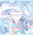 marble texture mix of blue and pink paints vector image