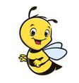 cartoon baby bee vector image