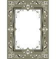 Frame with eastern decor vector image