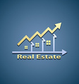Icon of real estate vector image
