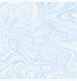light white and blue marble texture vector image vector image