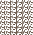 Elegant seamless pattern with swirls vector image vector image