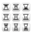 Hourglass sandglass icon set
