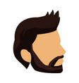 profile young man head icon